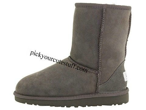 Kids UGGS Classic Short 5251 Boots Gray Outlet