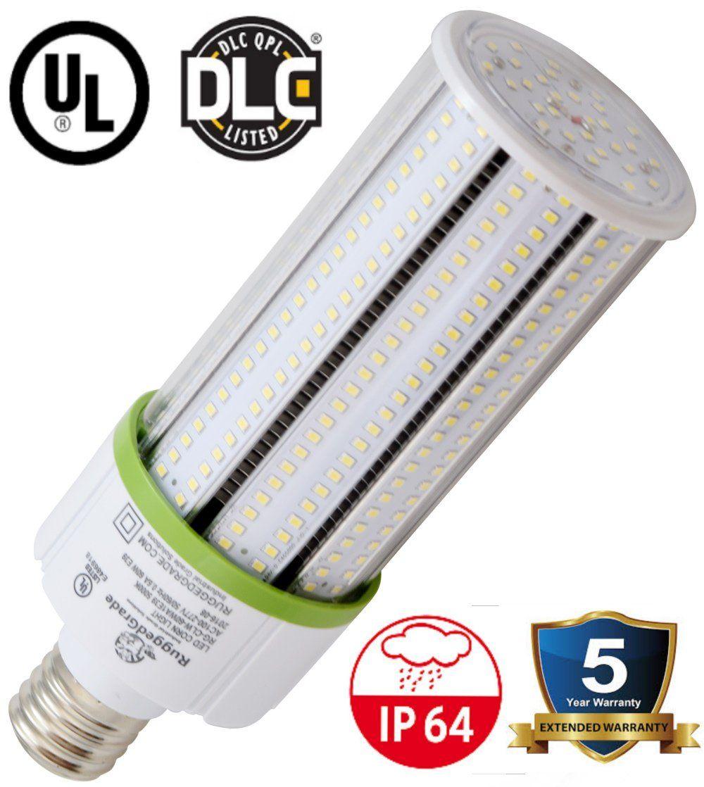 60 Watt E39 Led Corn Light Bulb 6 900 Lumens 3000k 2700k Warm White With Images Led Bulb Led Outdoor Wall Lights Bulb