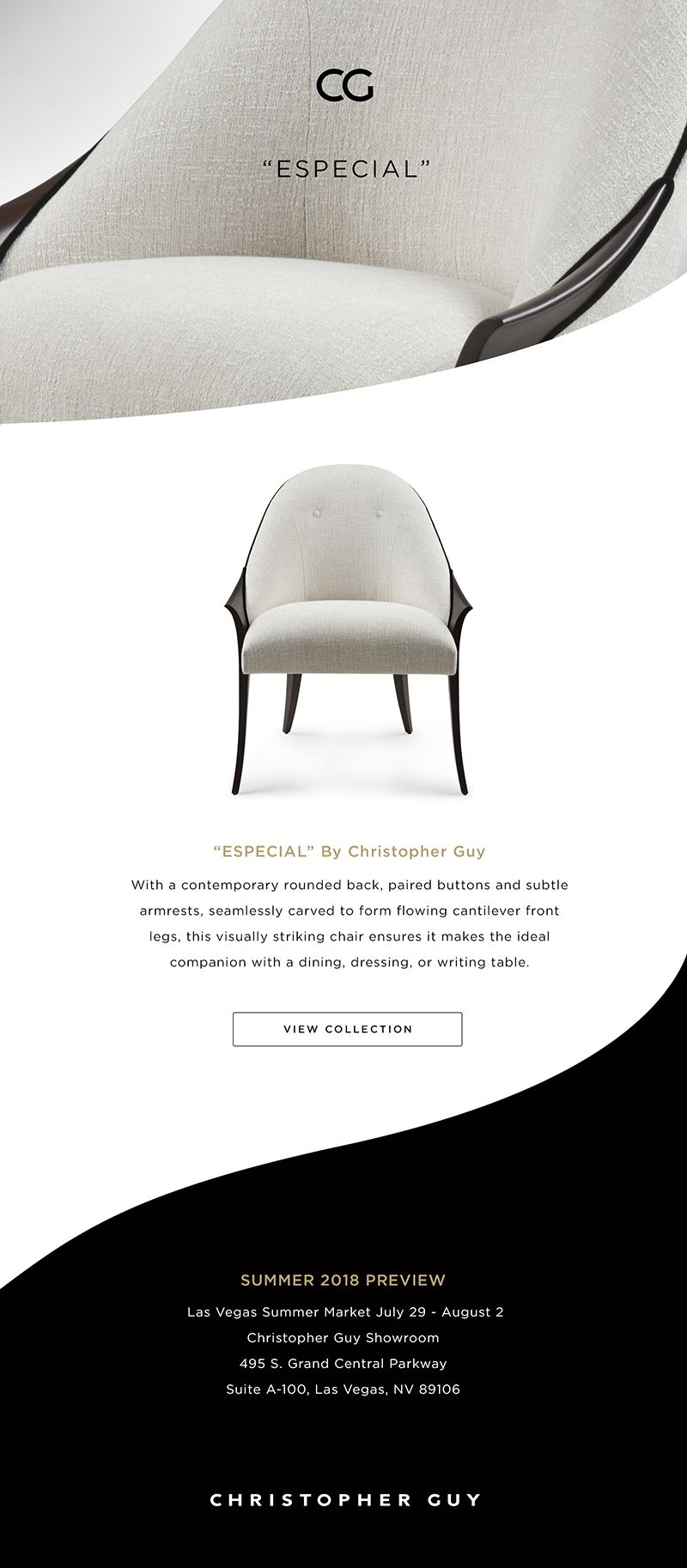 Summer 2018 Introduction Especial Www Christopherguy Com Cglv Lvmkt Lvmkt2018 Christopherguy Chair Artdeco Interior Design Furniture