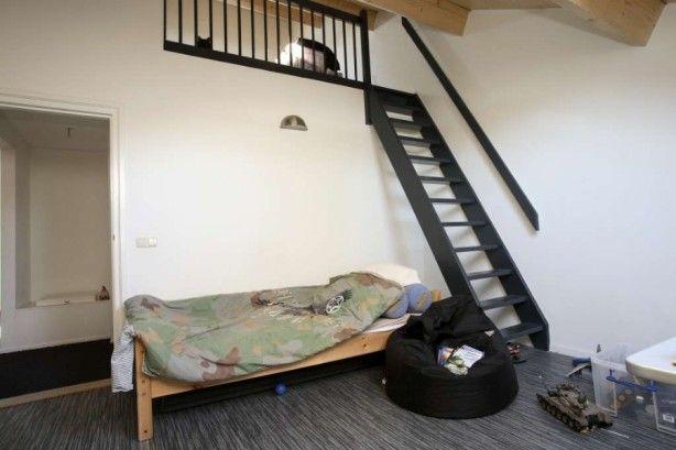 éénvoudige oplossing voor trap naar mezzanine trap naar zolder