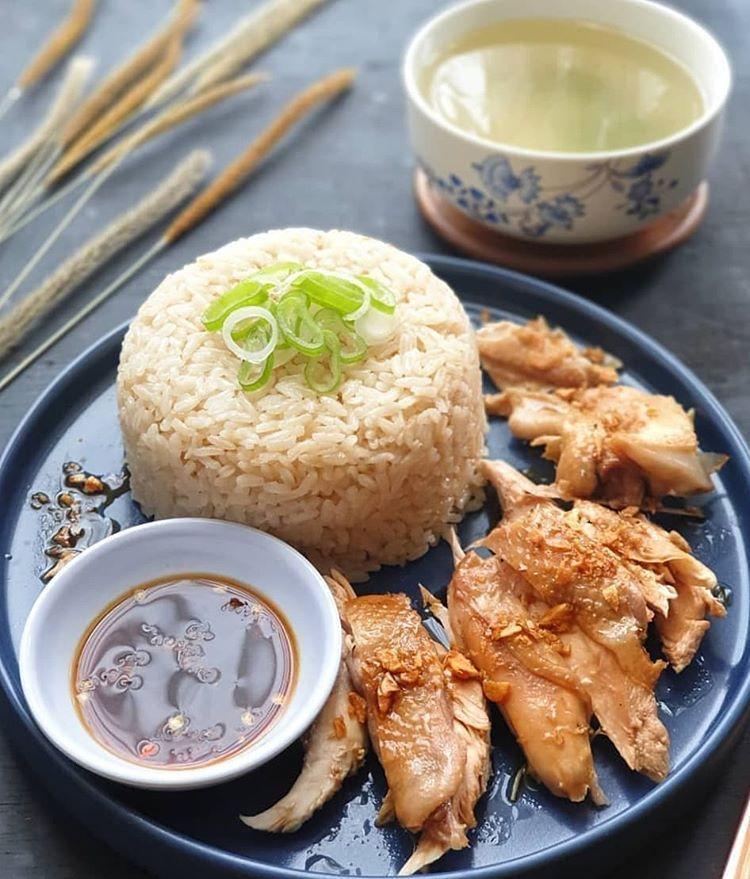 Resep Nasi Ayam Hainan Rice Cooker Nasi Ayam Pek Cam Kee Rebus Resep Resep Makanan Dan Minuman Resep Makanan
