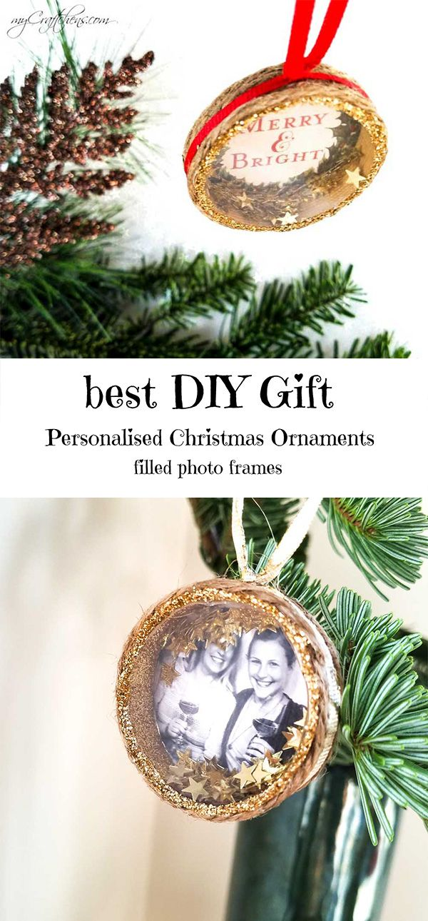 Cute do it yourself christmas ornament that you can personalise with cute do it yourself christmas ornament that you can personalise with your own pictures solutioingenieria Image collections