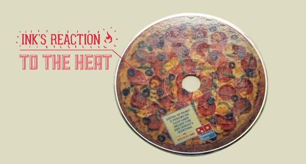 Domino's Creates DVDs That Smell And Look Like A Pizza When Heated - 4D Television