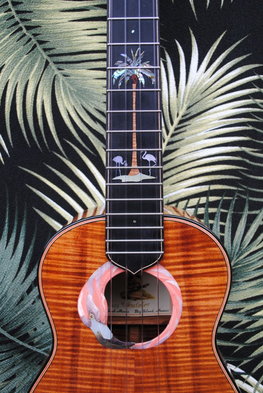 Moore Bettah Flamingo Best Acoustic Guitar Ukulele Design Guitar