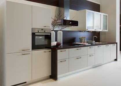 Elegant The ideal kitchen solution from Nolte German kitchens Minimalist design provides the best solution for