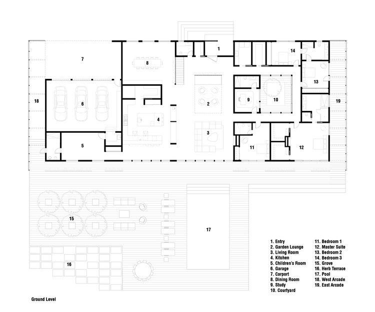 Office Mian Ye Completes Meadow House In Potomac Maryland: Meadow House / Office Mian Ye
