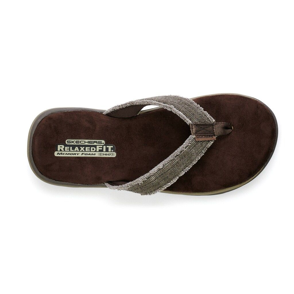Sandals   Skechers relaxed fit, Mens
