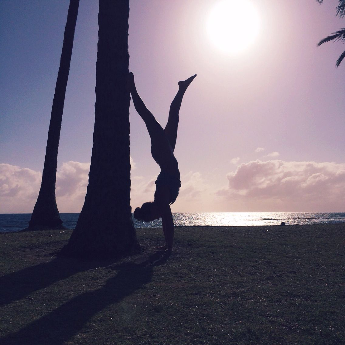 Hawaii Sunset Yoga Sunset, My pictures, Pictures