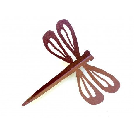 Mariposa oxido, ideal para decorar las paredes o bibliotecas. Para colgar o apoyar. Interior o exterior.  chica 27 x 30 cm  grande 36 x 38 cm