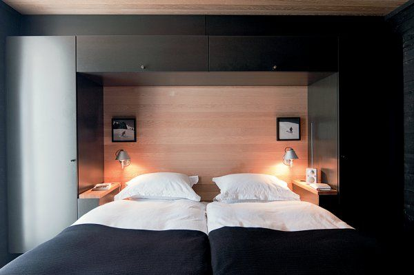 Une chambre lambrissée ultra moderne   Inspiration - Bedroom