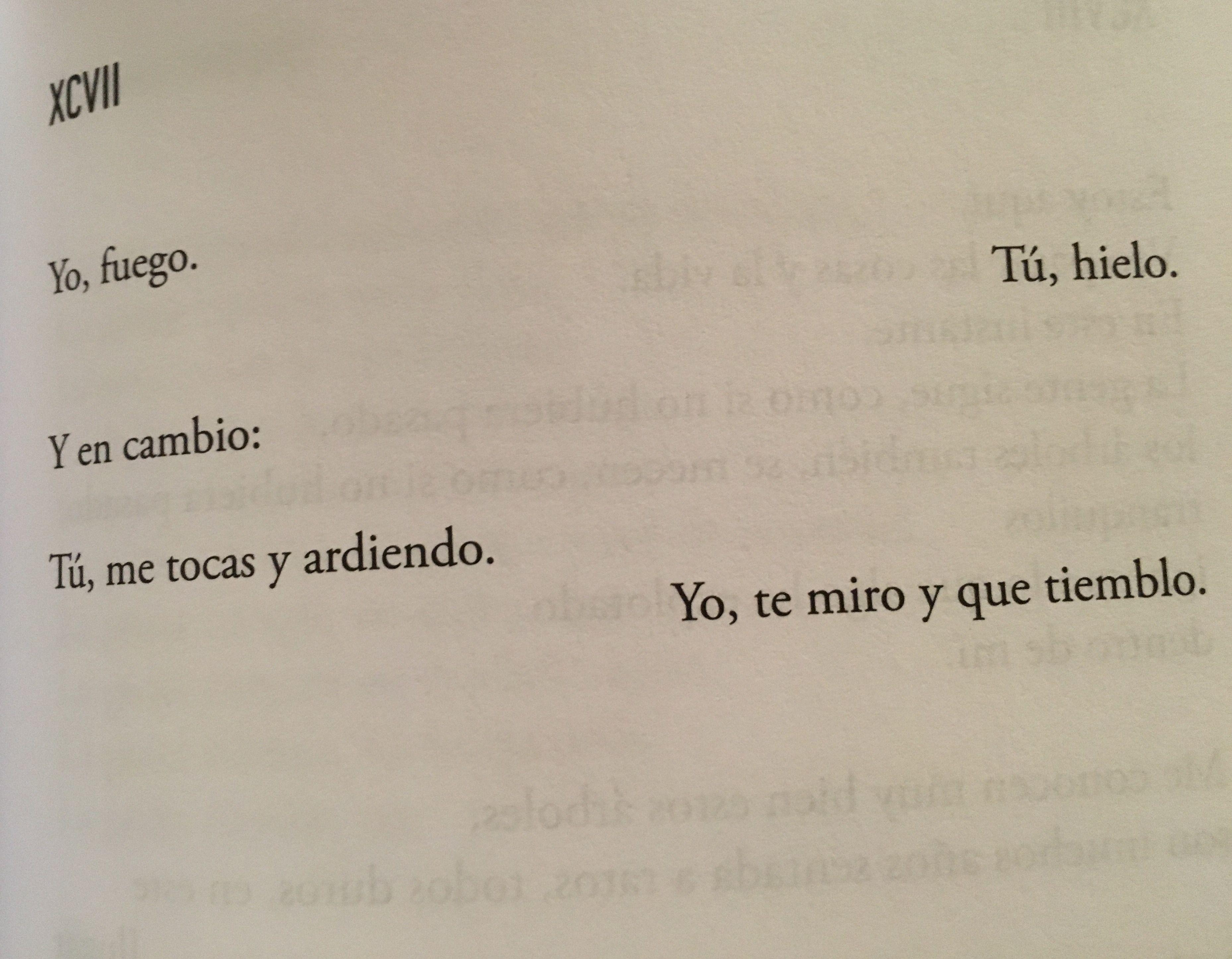 Amor y asco srtabebi Poesa