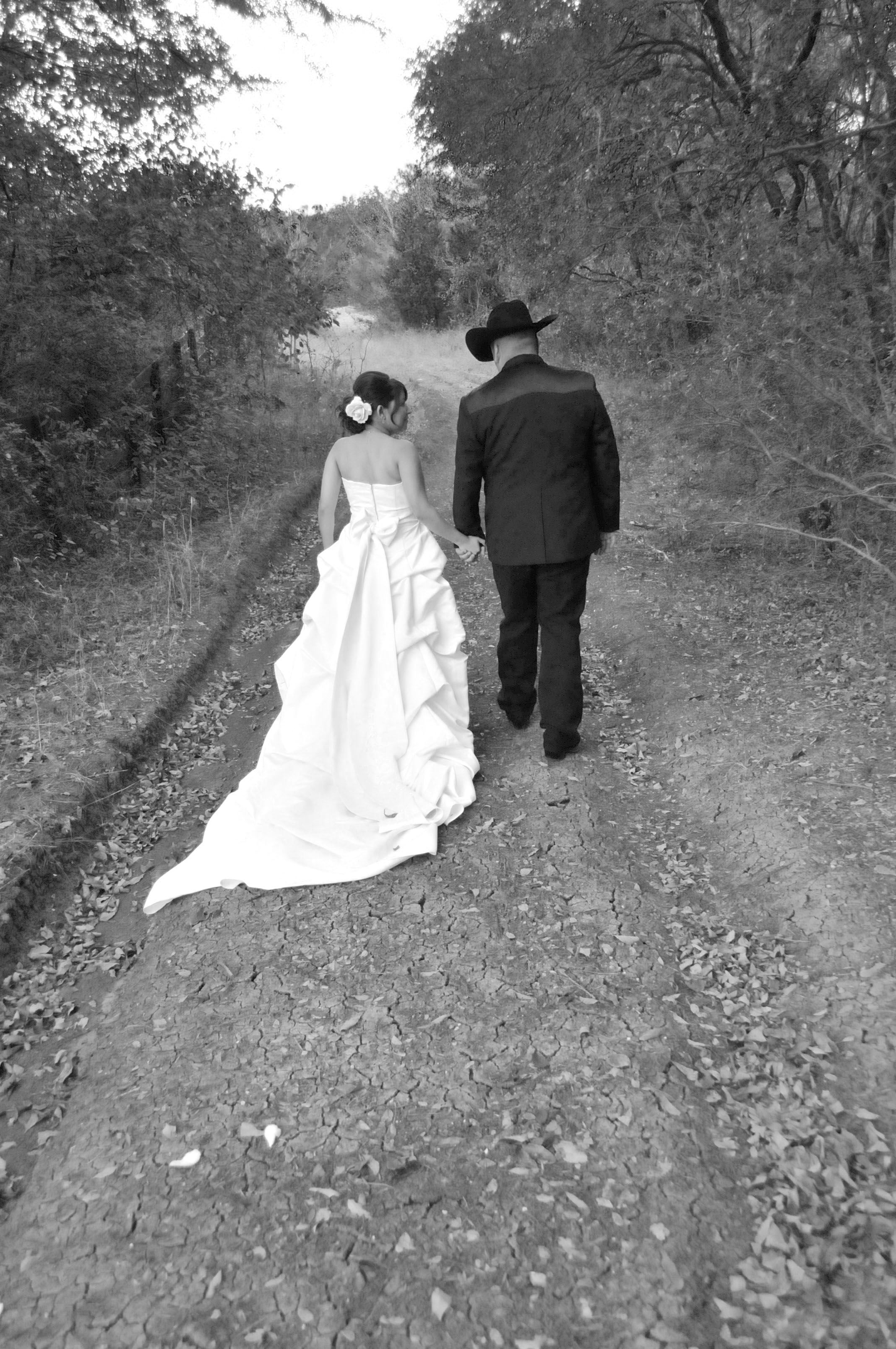 Every girl can make their dream come truewestern style wedding