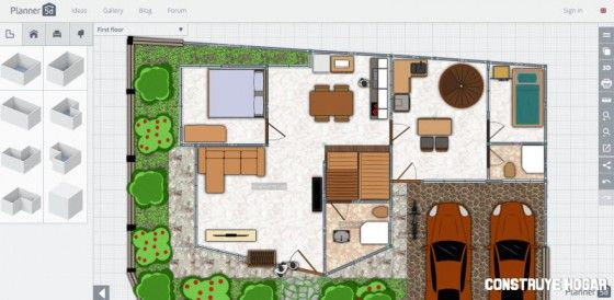 planos de casas 5d