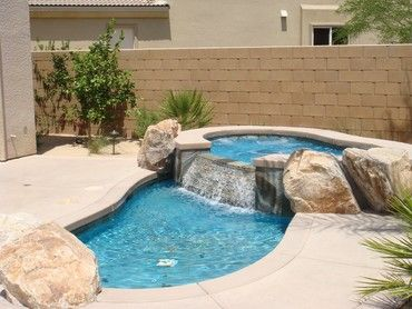 find this pin and more on home garden by ougirl2005 love the hot tub and small pool