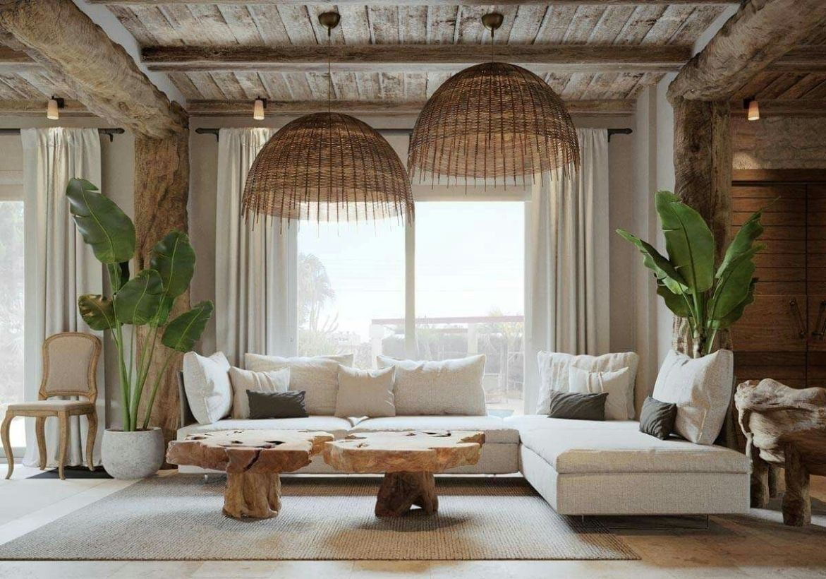43 Cozy Boho Living Room Decor Ideas images