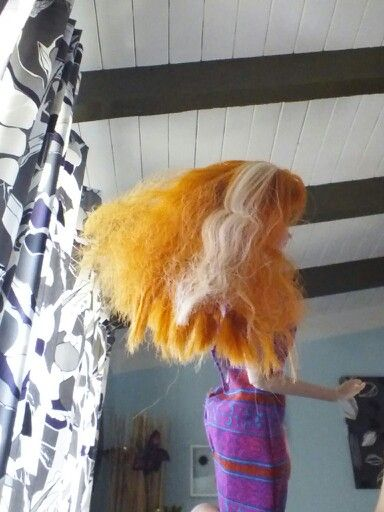 This Is How To Dye Your Doll S Hair Without Damaging The Hair Its