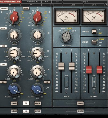 Scheps 73 Waves Audio Waves Plugins Audio