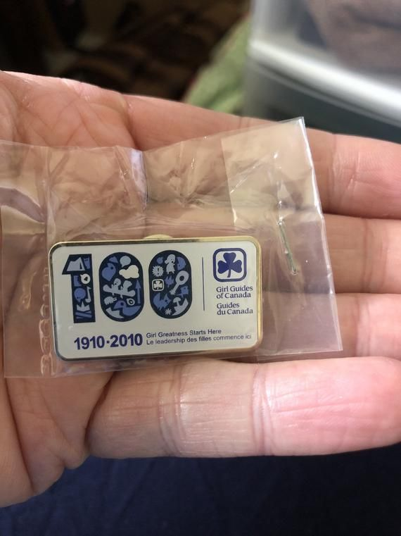 Vintage Canadian Guide Pin Badges
