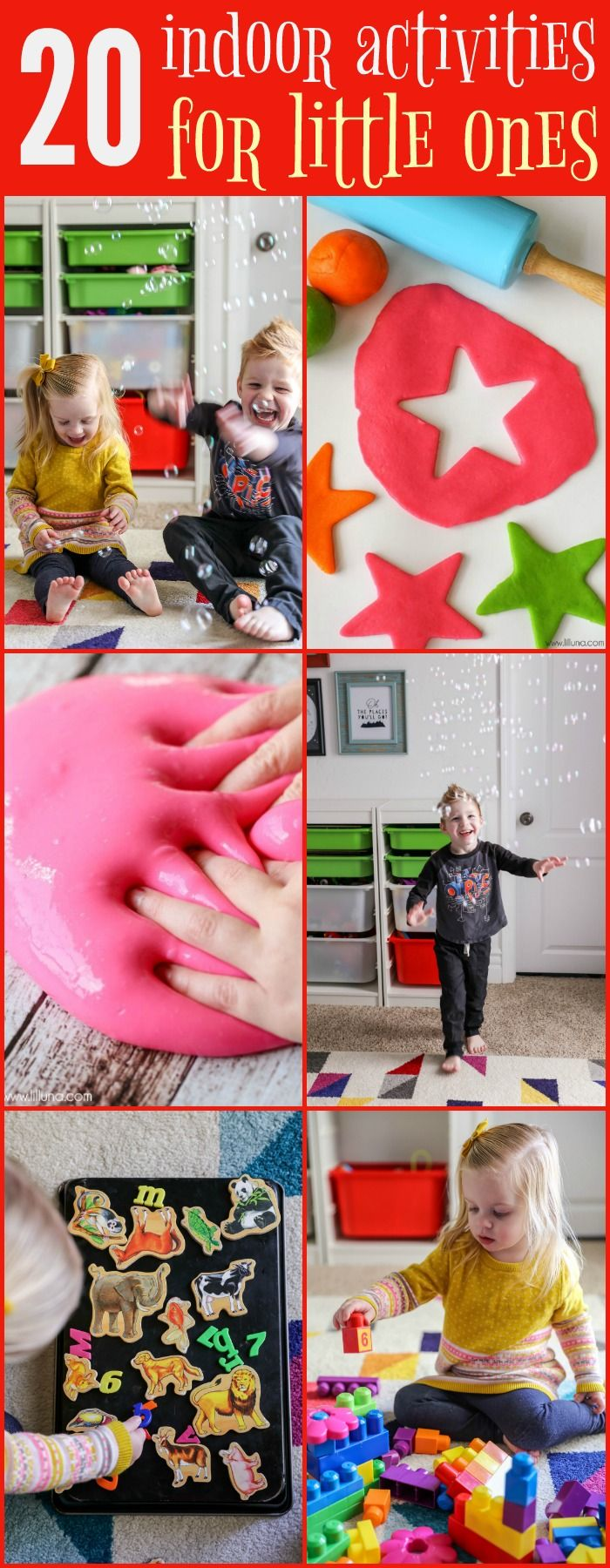20+ Indoor Activities for Little Ones Indoor activities