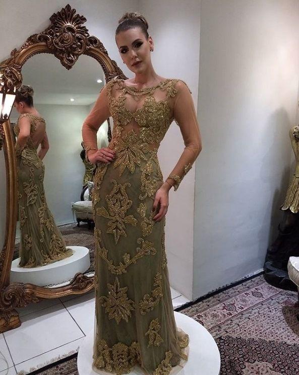 235174b5b DICAS E VESTIDOS DE FESTA BORDADOS | Dresses | Vestidos e Moda