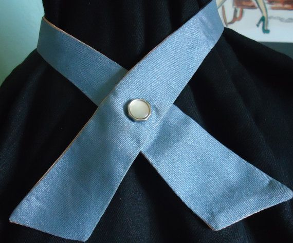 74a9eb07613c Continental Cross Tie Reversible: Blue and Tan by JeanniesSojourn ...