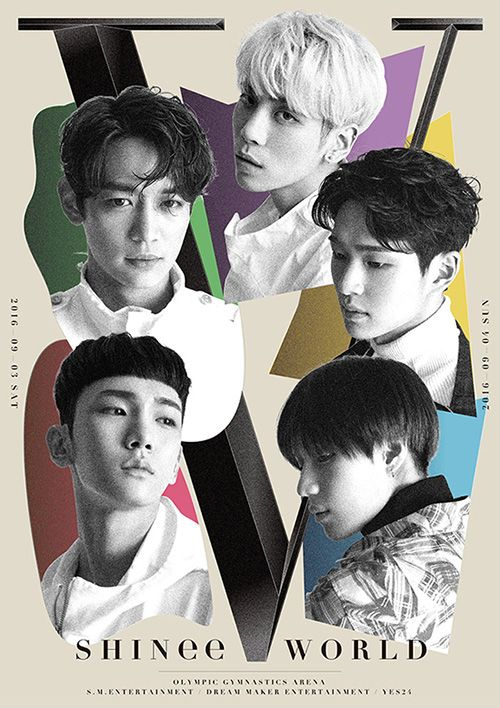 Image result for shinee world v poster