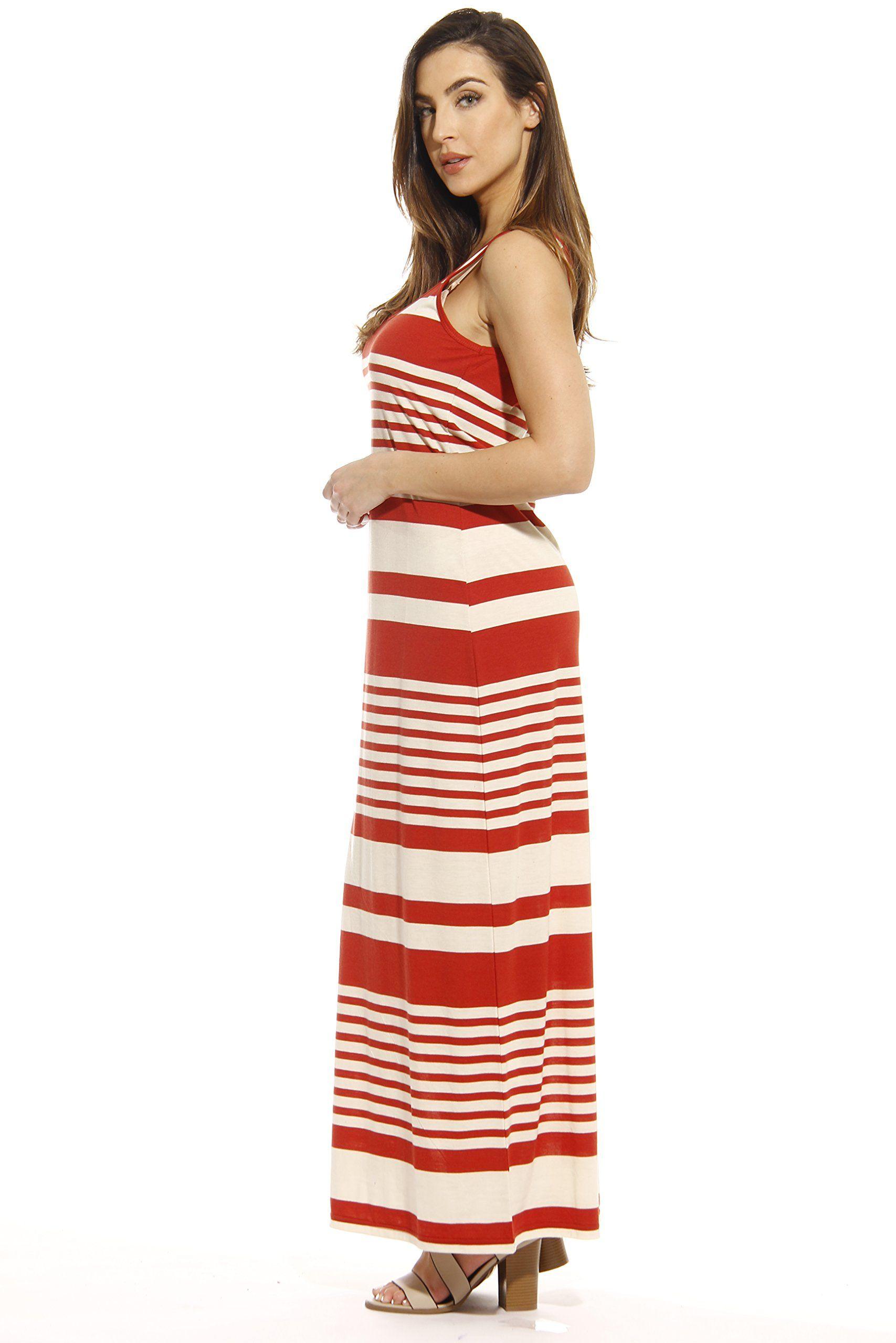 Just Love 3007 138 Redo Xl Just Love Summer Dresses Maxi Dress Rust Cream Medium Walmart Com Rust Dress Summer Maxi Dress Summer Dresses [ 2560 x 1707 Pixel ]