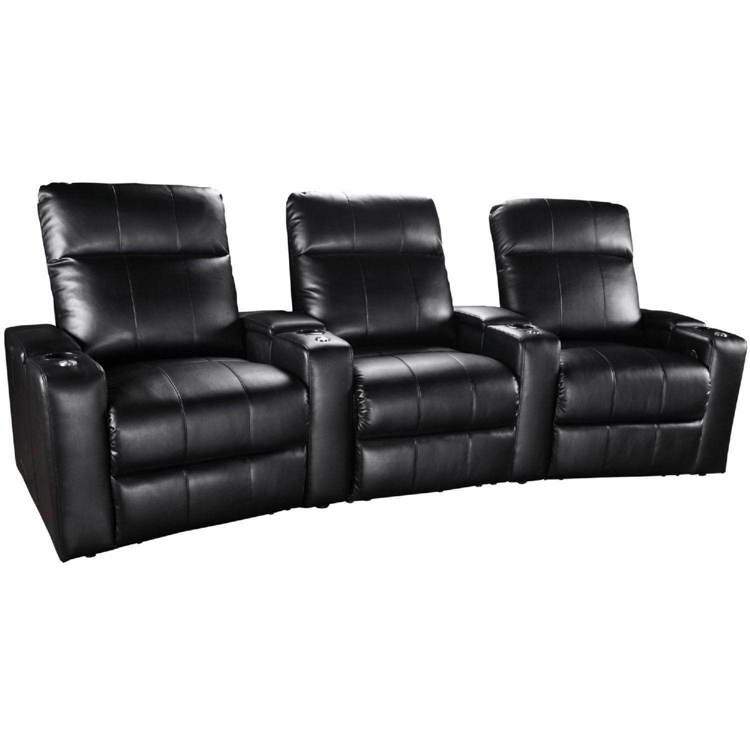 Theater Seating Group Curved 3 Seats