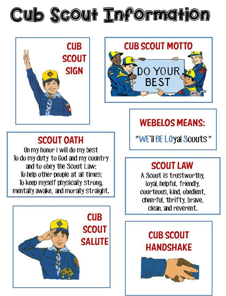 Strong Armor Cub Scouts - Scout Oath and Law Helps and Printables - boy scout medical form