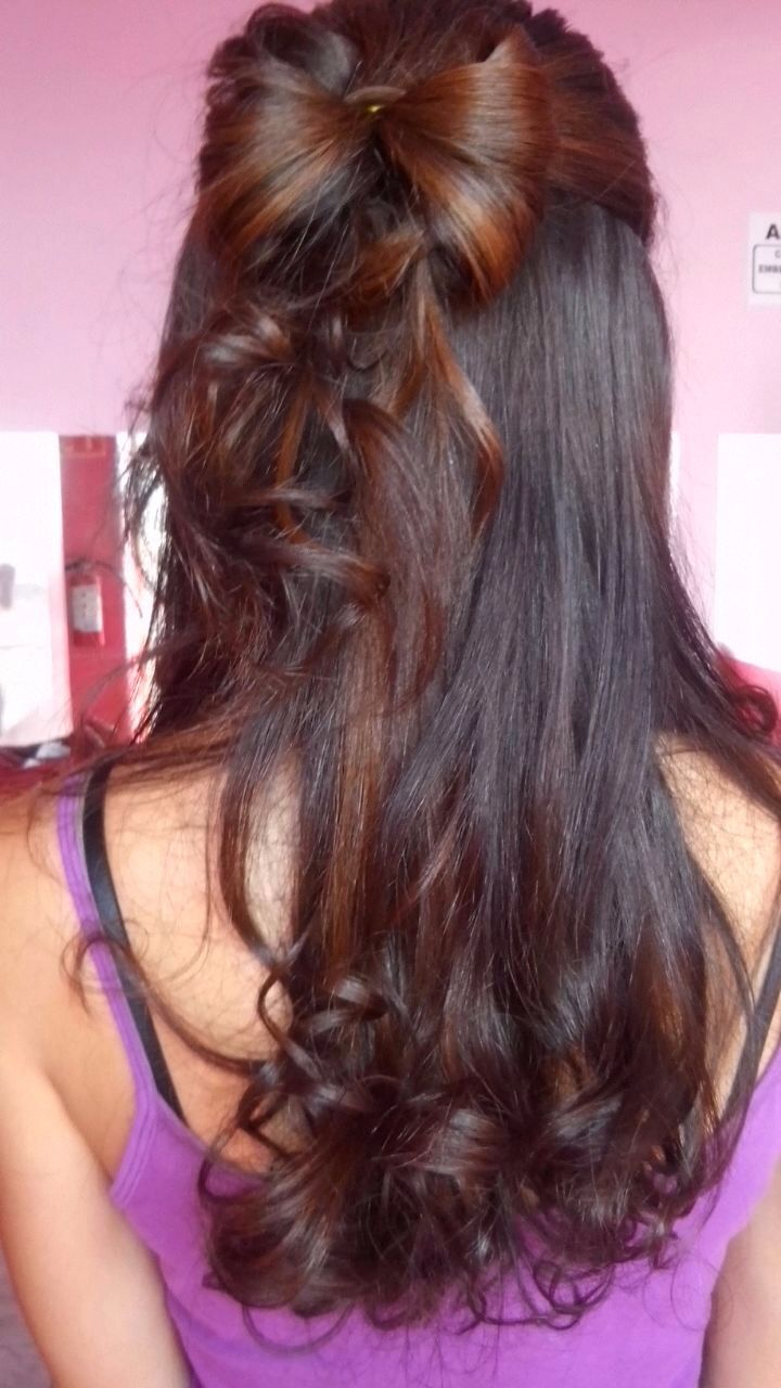 Bow curly