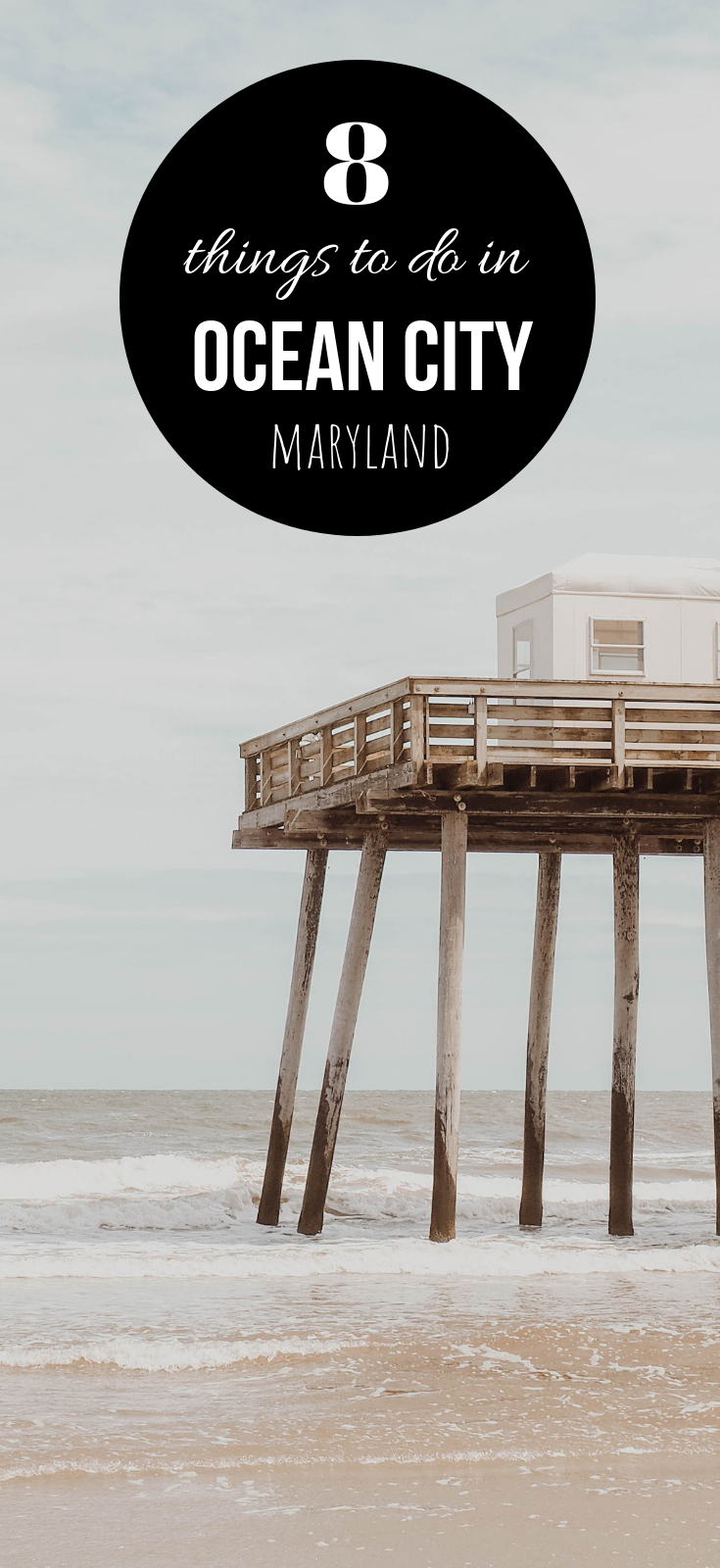 Ultimate Ocean City Maryland Guide Featuring The Top 8 Things To Do In Ocean City. #Beach | #OceanCity | #Maryland | #Travel | #Vacation