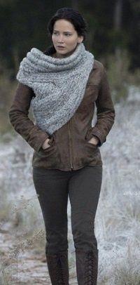 вязание хомут