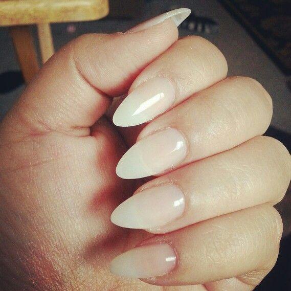Resultado de imagem para stiletto natural looking nails | Nails ...