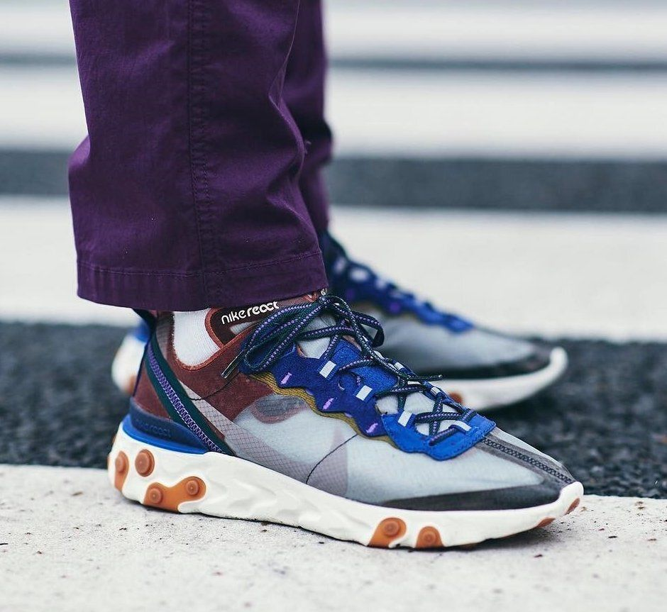 color atractivo 2019 profesional última venta Nike React Element 87 Dusty Peach: Sale Price: $76.78 (Retail $160) FREE  SHIPPING use code: WINSTREAK at checkout   Nike, Sneakers, Sneakers nike