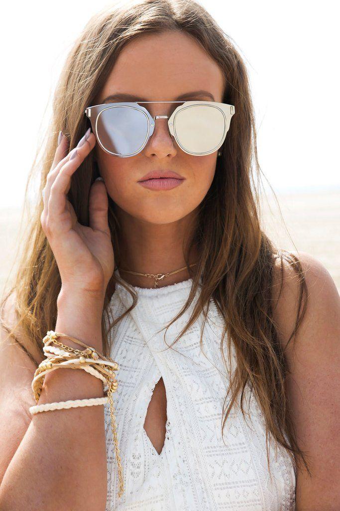 e7ce374679 I Told You So Reflective Sunglasses - Silver – Haute   Rebellious ...