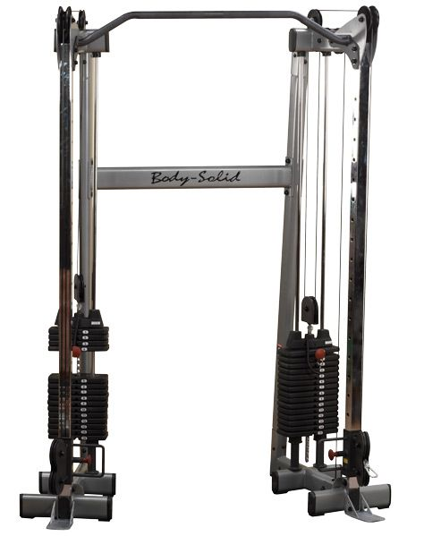 Cable machine gym functional trainer body solid gdcc