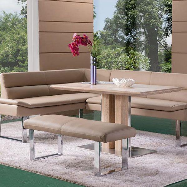 Dining Room Corner Bench elvia - corner bench rh, 120cm bench & dining table   benches