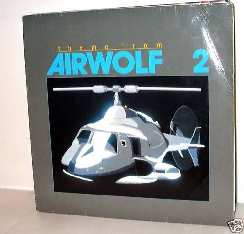 SYLVESTER LEVAY --  Theme From Airwolf 2 - 12 MAXI e