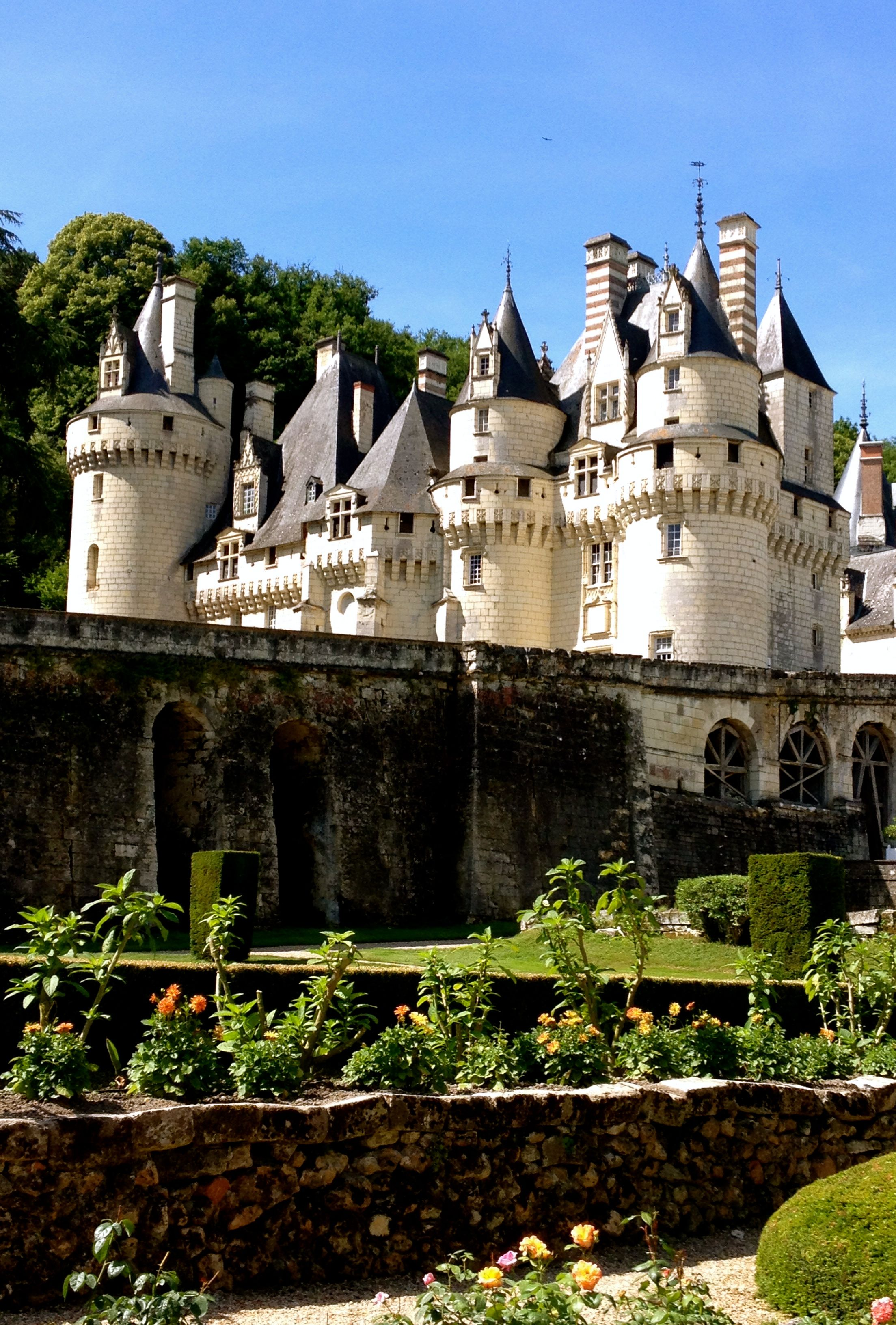 Paysagiste Indre Et Loire azay-le-rideau–rigny-ussé—chinon   château d'ussé, chateau