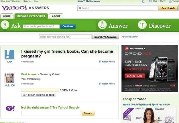 16 Questions About Boobs Only Yahoo Answers Can Help You With ...