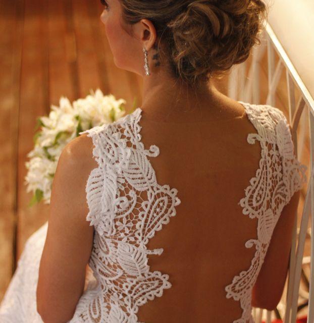 Dressbe   Vestido de noiva todo em renda gripie. #noiva #vestido #dress #casamento #renda