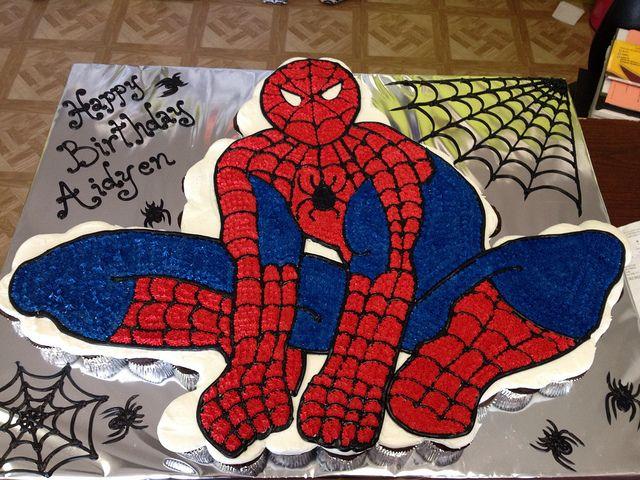 Spiderman Cupcake Cake Cupcake Cake Designs Cupcake