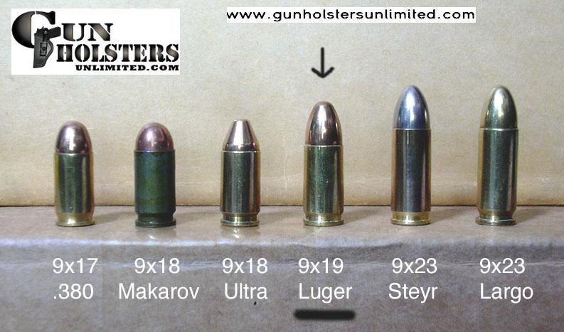 Bullet Caliber Comparison Chart This 9mm caliber is The most