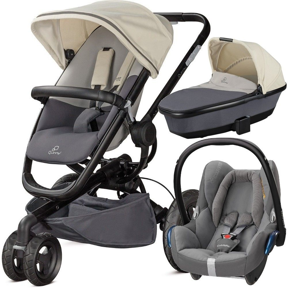 Quinny Buzz Xtra Cabriofix Travel System Package Reworked Grey Baby Travel Accessories Quinny Stroller Baby Strollers