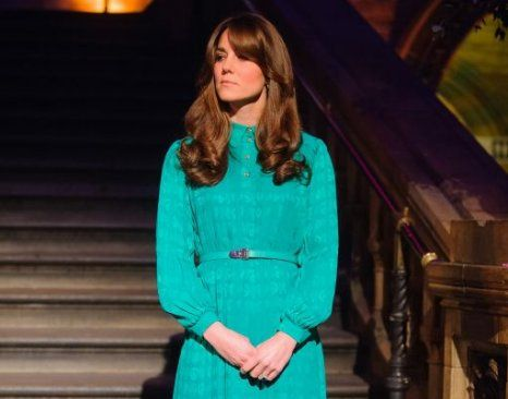 The Duchess Of Cambridge At National History Museum Kate