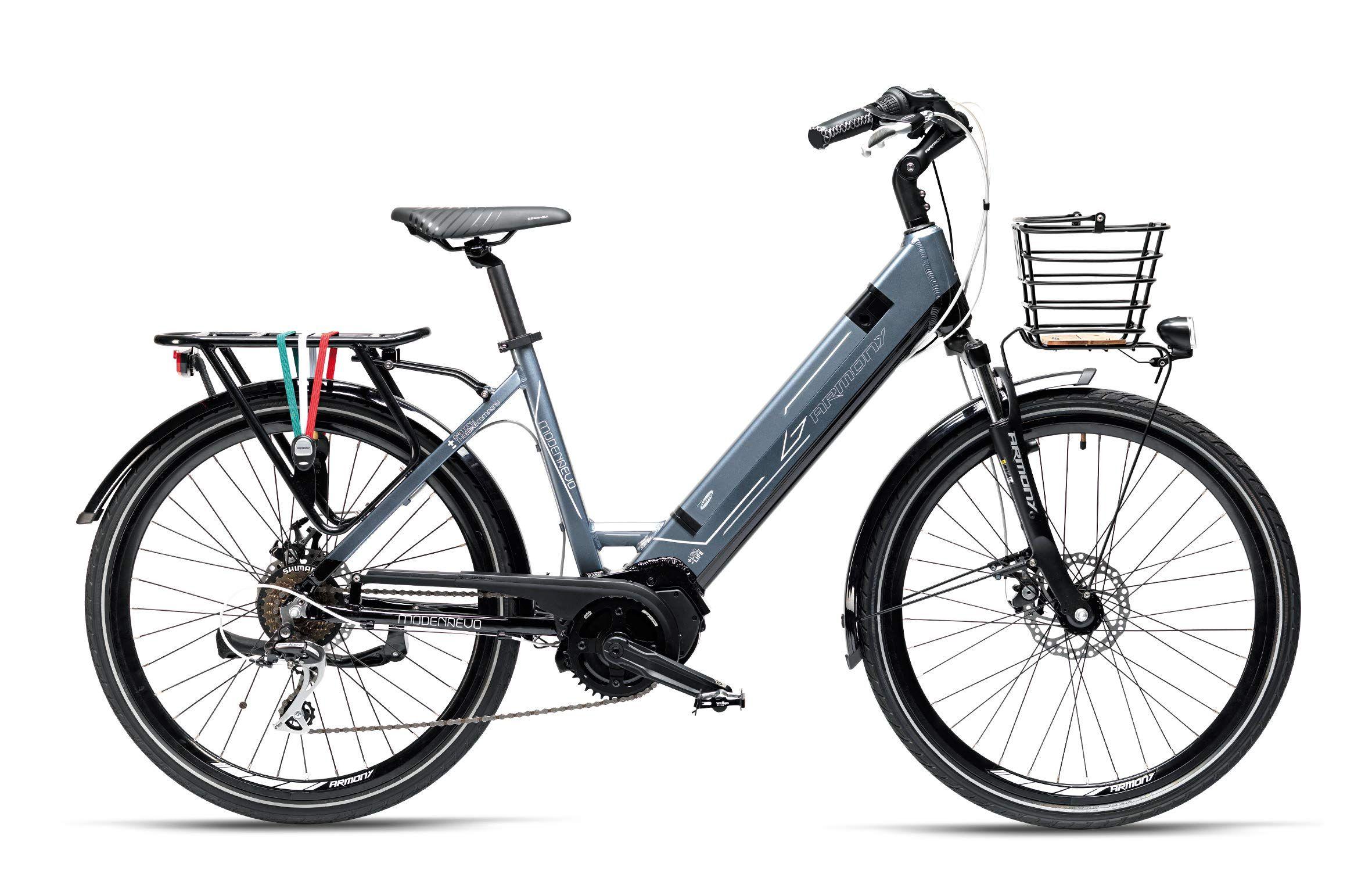 Armony Modena Evo, Bicicletta Elettrica Unisex Adulto