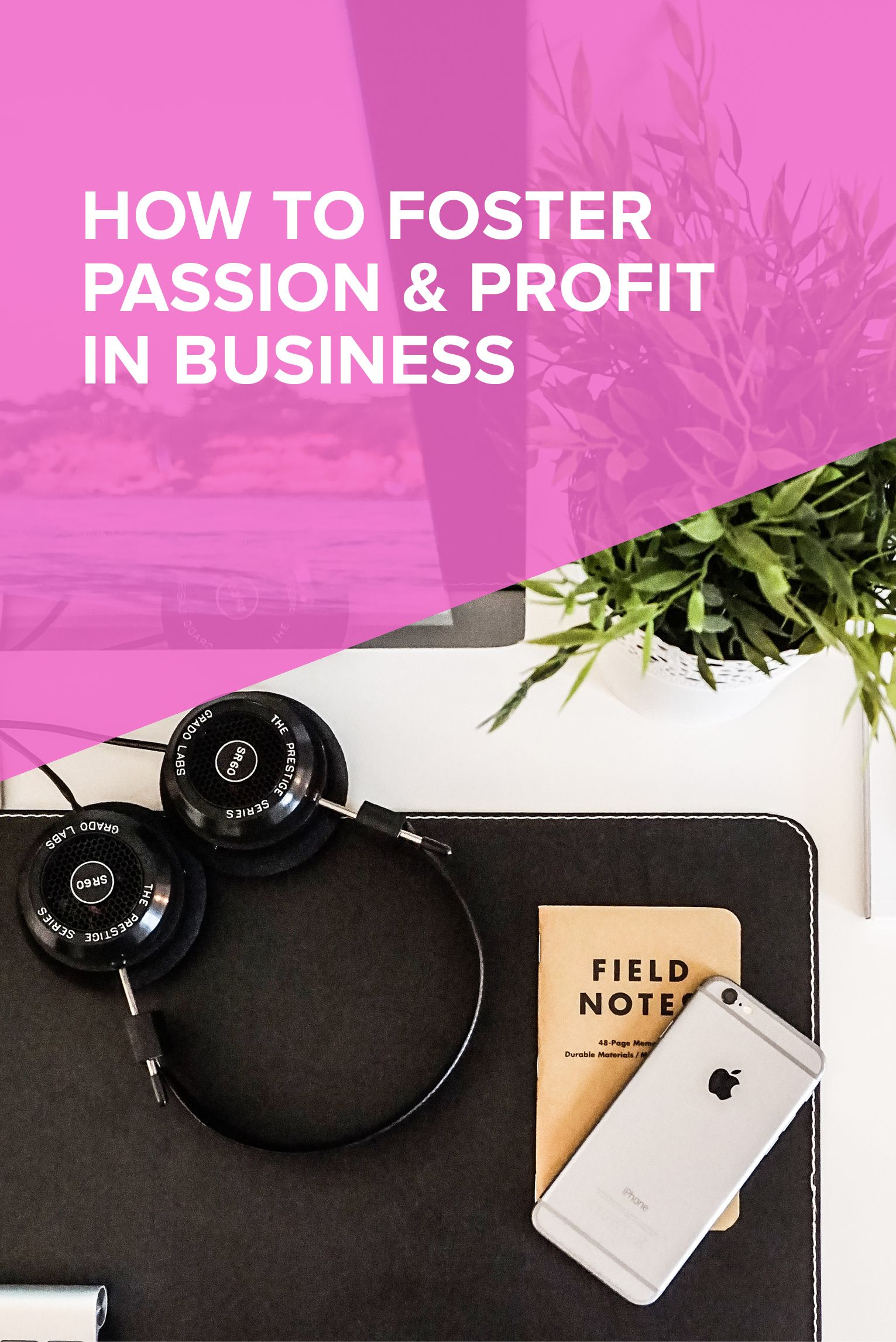 How to Foster Passion & Profit in Business