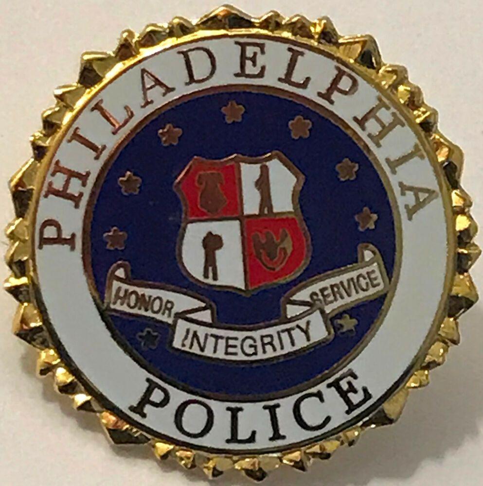 Philadelphia Police Pennsylvania Pa Philly Vintage Lapel Pin Lapel Pins Police Lapel Pin Police