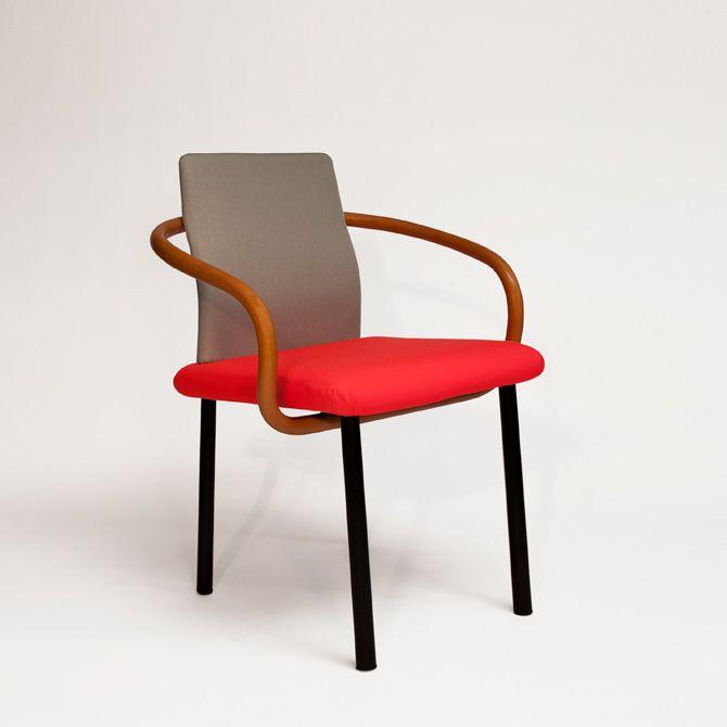 Mandarin Chair by Ettore Sottsass for Knoll, 1986