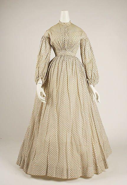 Dress 1830s met
